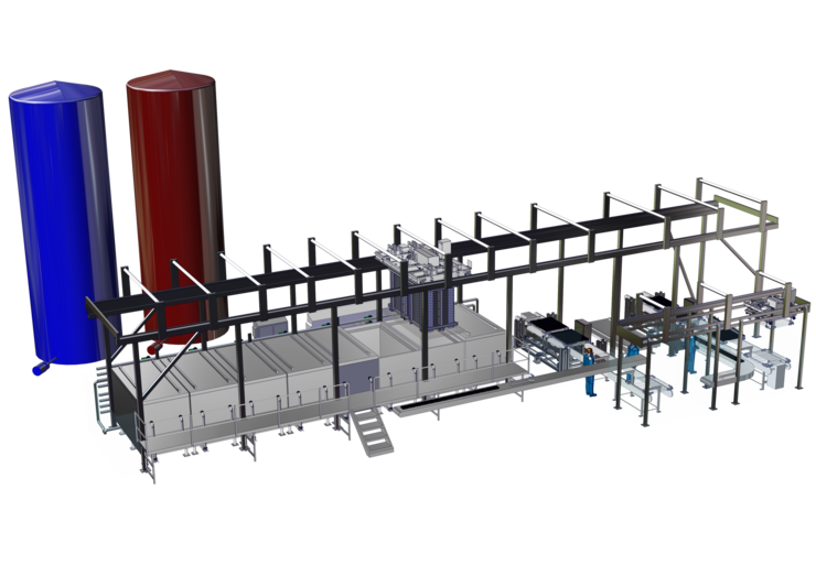 CAO - Thermix - 9500L with 1 Unload/Load Line + Water silos